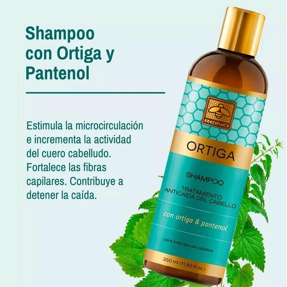 Shampoo Con Ortiga Para La Caida Del Cabello - Reino