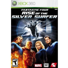 Fantastic Four Rise Of The Silver Surfer Xbox 360 Novo Nf