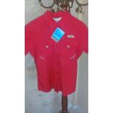Camisa Columbia De Dama Talla L Original Nueva Importada