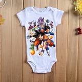 Body Baby Bebê Dragon Ball Super Goku Vegeta Personalizado