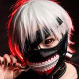 Mascara Tokyo Ghoul Cosplay Anime Kaneki Ken Original Import