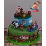 La Granja De Zenon Decoracion Torta En Mercado Libre Argentina - Decoracion-de-tortas-infantiles