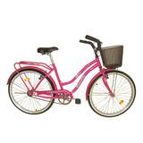 Bicicleta R-26 Peretti Paseo Dama Primaterra Rosa Oscuro