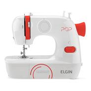 Máquina De Costura Pop Elgin 9 Pontos Bl-1009 Bivolt Branco