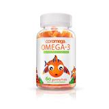 Coromega Omega 3, Dha Altos - Frutas De Gominola, 60-count