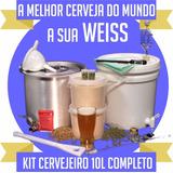 Cerveja Caseira Kit Cervejeiro Artesanal Trigo C/ Vídeo Aula