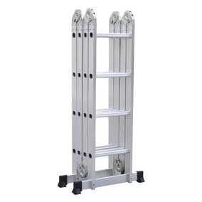 Escalera Multifuncion Aluminio Articulada Plegable 4.75m M M