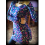 Camisola/blusa/remeron-vestido Con Tajos/modal/manga Larga