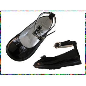 Guillermina N° 18 Charol Bebes Nena Zapato De Vestir Fiesta