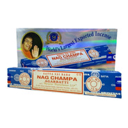 Incenso Nag Champa Satya Sai Baba Cx.12un. + Brinde + Frete