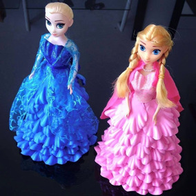 Boneca Frozen Em Eva Anna E Elza Grande