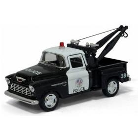 Miniatura Guincho Da Policia Chevrolet 1953
