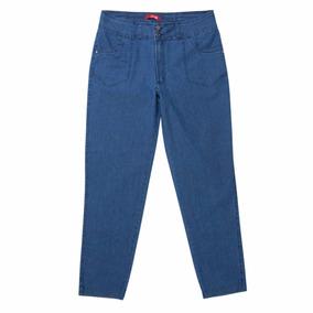 12 Calças Jeans Cigarrete Femin. Plus Size Stretch Eruption