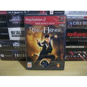 Jet Li Rise To Honor Original Novo Lacrado Ps2 Playstation 2
