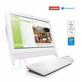 Computadora Pc All In One Lenovo 19 1tb Dvd 4gb Ram A Meses