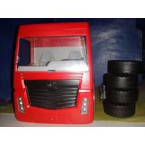 Playmobil Tractocamion Rojo De Refaccion Falta Chasis Bajo B