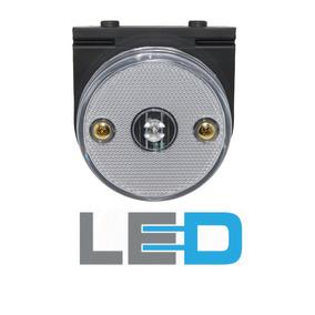 Lanterna Lateral Carreta Mod Randon Led Bi Volt Cor Cristal