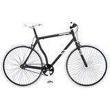 Mongoose Hombres R4044wma 700c Detain Fixie Bike, Mate Negr