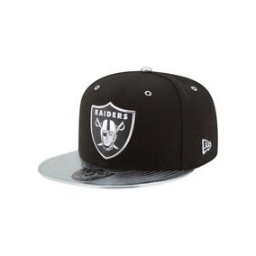 Gorra Nfl New Era Raiders 59fifty Negro Con Verde