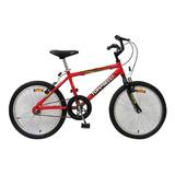Bicicleta Rodado 20 Tomaselli Kid 20 Rojo