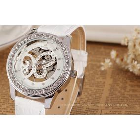 Relógio Feminino Luxo Winner Wrl8009m3s2 Envio Grátis
