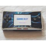 Gameboy Advance Micro Bien Cuidado Con Cargador Y Juego.