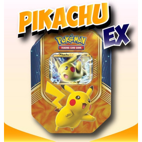 Lata Pikachu Ex - Pokemon Tcg - Card Game