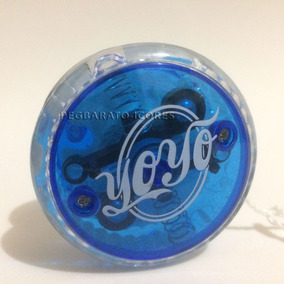 Ioio Yoyo Azul Estilo Clássico Profissional Luz Led Modelo 2