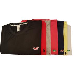 8 Camisetas Gola Careca Plus Size G1 Ao G7 Exg Exxg Exgg