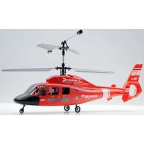 Helicóptero De Controle Remoto E-sky Co Douphin 4 Canais