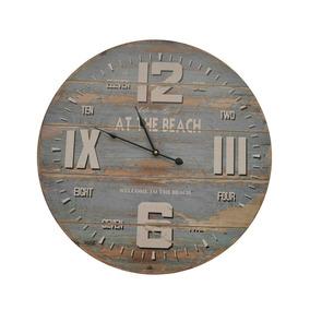 08c9ea13674 Relógio Decorativo De Parede Em Madeira 58cm
