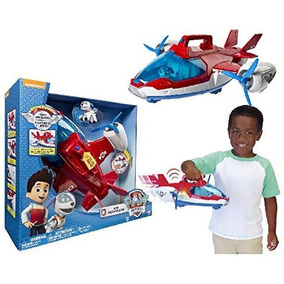 Paw Patrol Avion Air Patroller Con Luz Y Sonido + Robo Dog