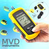 Buscador De Peces Portable 100m Profundidad Fish Finder