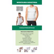 Musculosa Camiseta Faja Reductora Modeladora Masculina Slim