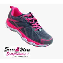 Zapatos Para Dama Apolo Ad1606 Gris-fucsia