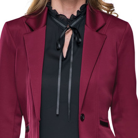 Saco Casual Yaeli Fashion 5733 Rojo Dama