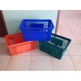 Cesta Para Mercado Plastica Con Asa Supermercado Oferta