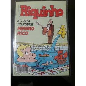Revista Em Quadrinhos Riquinho Volume 01 - Agosto De 2012