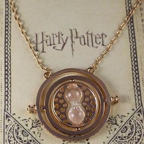 Collar Giratiempos Hermione Harry Potter Importado Blister.