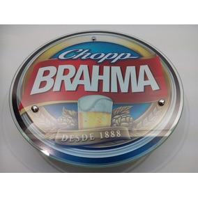 Lustre Placas Quadros Luminosos Decorativo P/ Bar Brahma