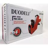 Etiquetadora De Precios Manual Duodeli Mx-5500