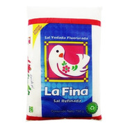 Sal La Fina Refinada Fluorada 750 Gr