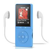 Walkman Reproductor De Mp3 Agpteka208gb Azul