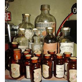 Vidros E Frascos De Farmácia - Antigos