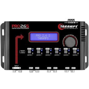 Crossover Taramps Pro 2.6s Processador Digital Equalizador