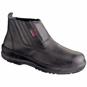 Botina Sapato De Proteção Conforto Resistente