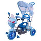 Triciclo Infantil 2 Em 1 C/ Toldo Luzes Música -bel Brink