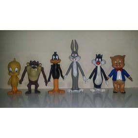 Looney Tunes Porky Bugs Lucas Tazmania Piolin Silvestre Goma