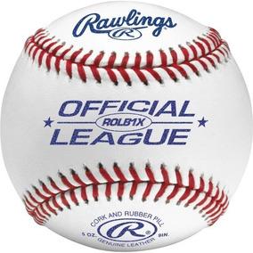 Caja De Pelotas De Beisbol Rawlings Con 12 Pelotas Nuevas