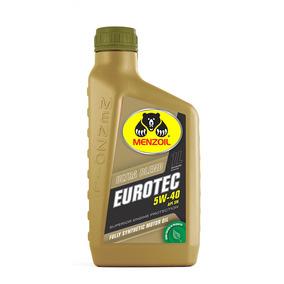 Óleo De Motor 5w40 Sn 100% Sintético Eurotec Ultra Blend 1l